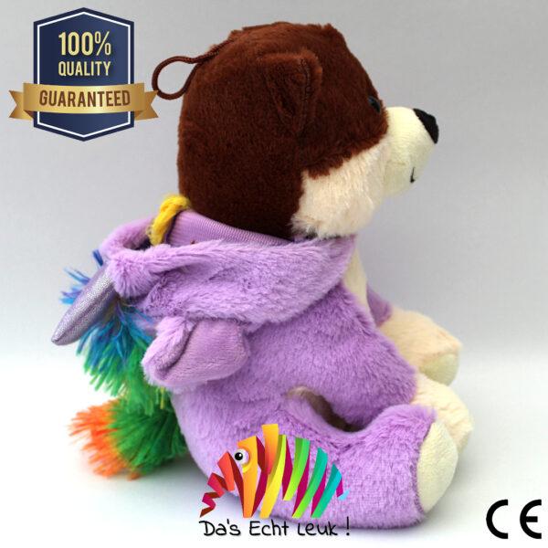 8720256361657 Hond Pluche Verkleed Unicorn