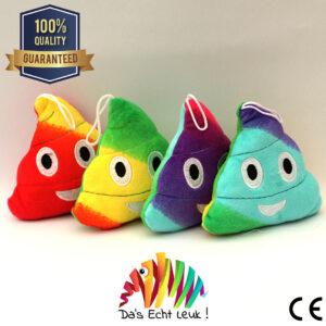 Emoticon Poo Pluche Rainbow