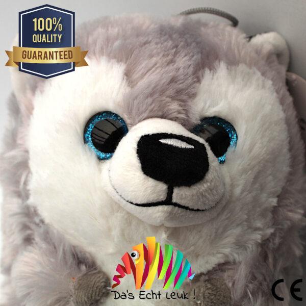 8720256361152 Funny Husky Pluche